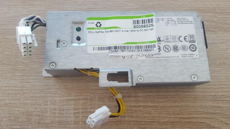 DELL OptiPlex 780 960 USDT А клас 180W for PC 0M178R