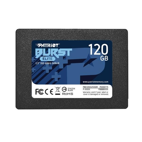 Твърд диск, Patriot Burst Elite 120GB SATA3 2.5