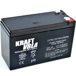 Батерия KRAFT VRLA 12V 7Ah