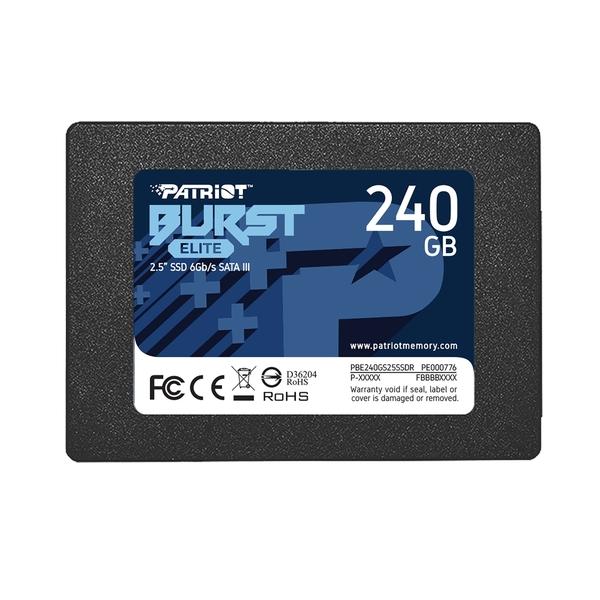 Твърд диск, Patriot Burst 240GB SATA3 2.5