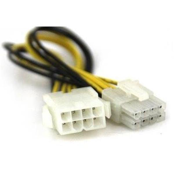 VCom Удължение Extension Cable 8pin EPS ATX - CE314-0.3m