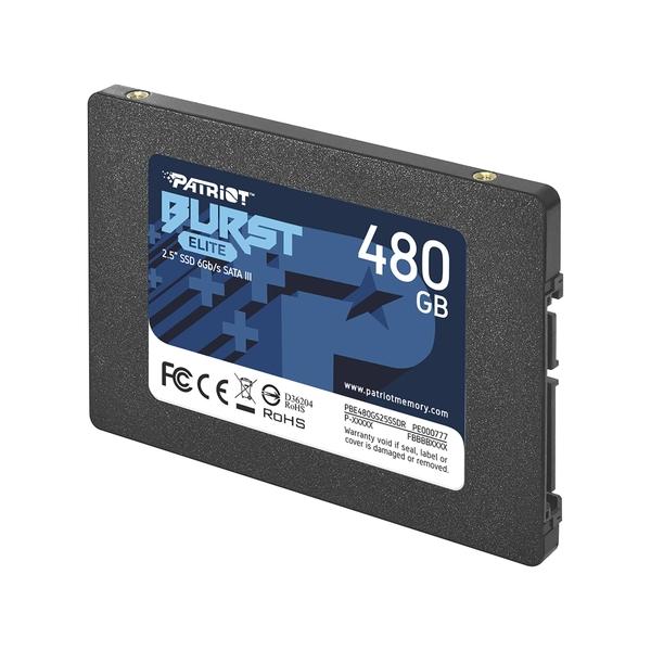 Твърд диск, Patriot Burst Elite 480GB SATA3 2.5