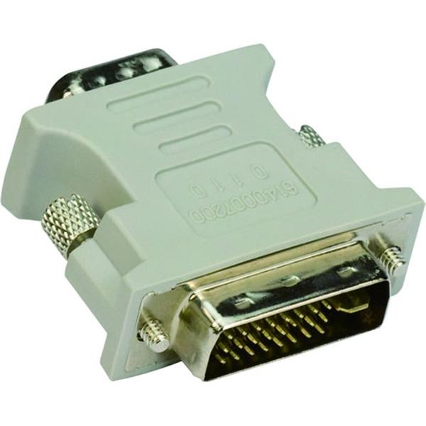VCom Адаптер Adapter DVI M / VGA HD 15F - CA301