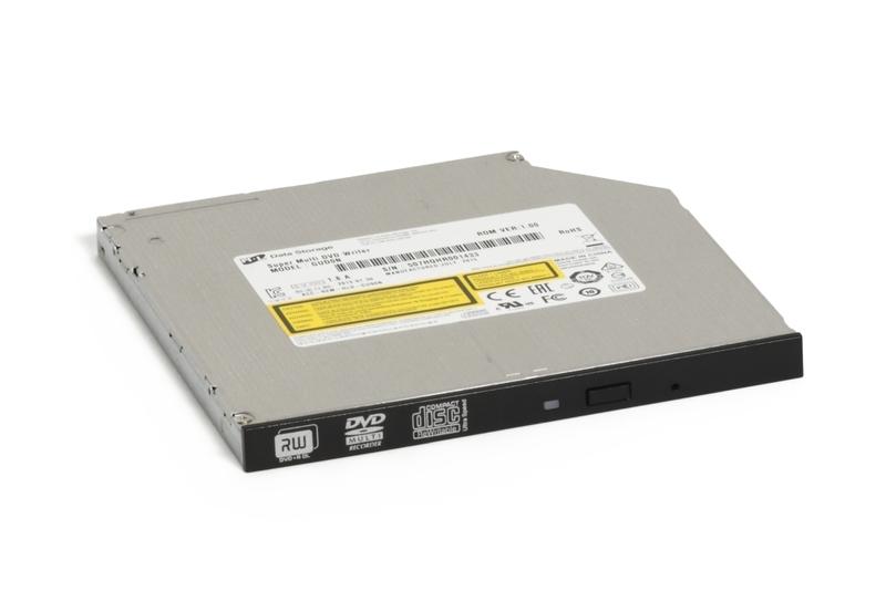 Оптично устройство, Hitachi-LG GUD0N Slim Internal 9.5mm DVD-RW, Super Multi, Double Layer, M-Disk Support, Black