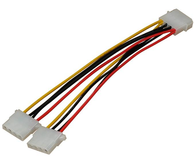 Makki Кабел Molex Power Splitter Y Cable - MAKKI-CE302-0.2m