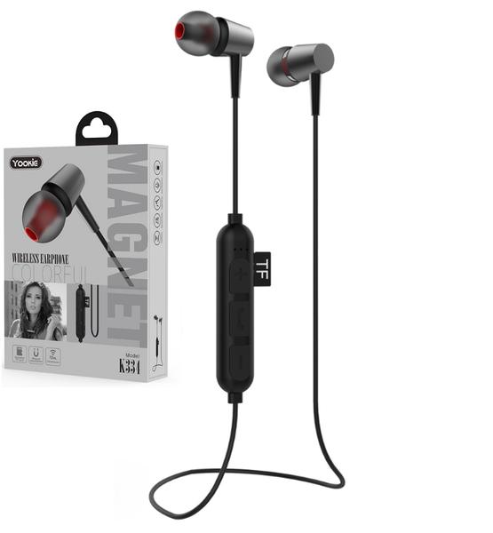 Слушалки с Bluetooth Yookie K334, Различни цветове - 20463