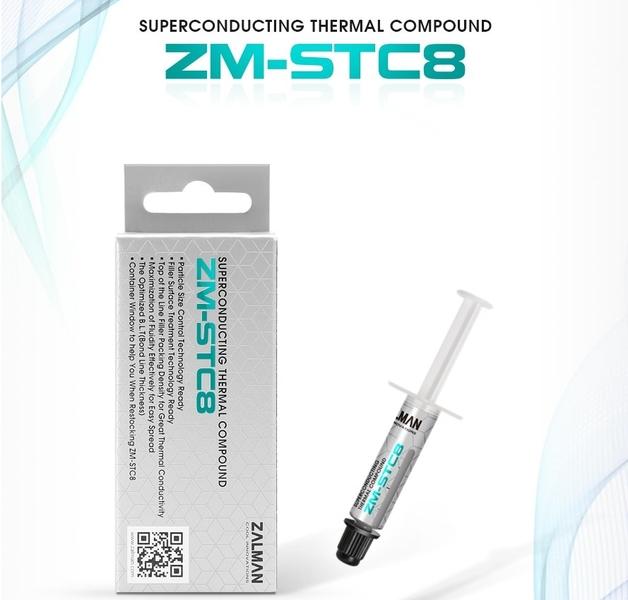 Zalman термо-паста Thermal compound STC8 - 8.3W/mK 1.5g - ZM-STC8